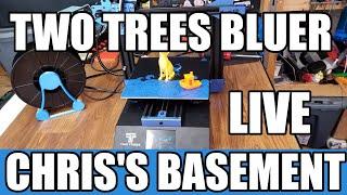 Starts 2:44 - Two Trees Bluer 3D Printer Build - Chris's Basement