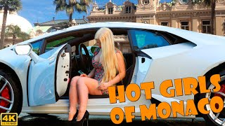 HOT GIRLS DRIVING SUPERCARS IN MONACO  ULTIMATE COMPILATION [2019 4K]