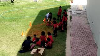 Net Crawling Activity at DPSG STARZ F block Palam Vihar   Best Preschool In Palam Vihar