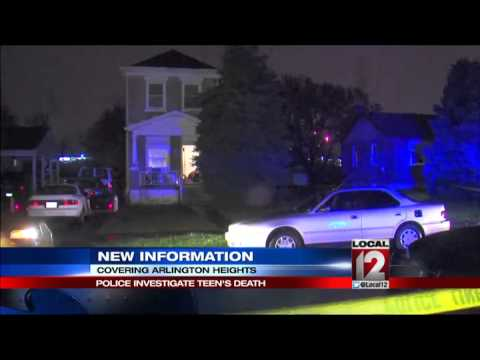 Investigation of a teen homicide in Arlington Heights