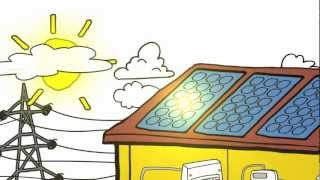 Altec Solar Animation - How Solar PV (Photovoltaic/electricity panels) Works