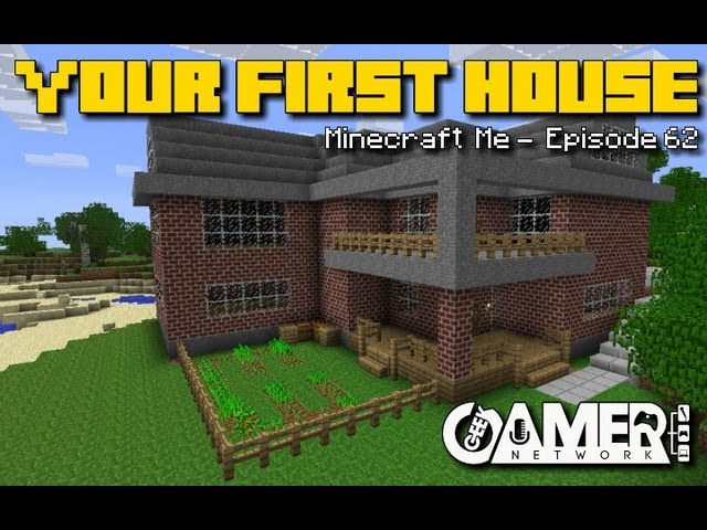 Building Your First Minecraft House Youtube