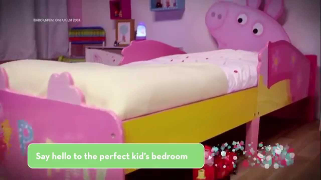 Peppa Pig Toddler Bed Feature