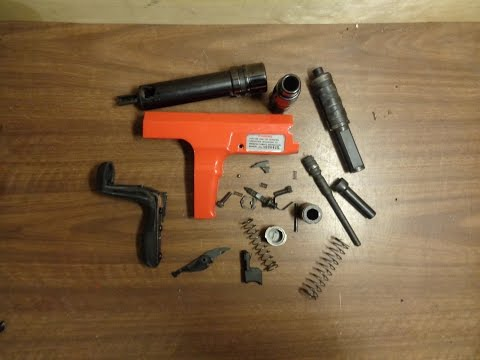 Assembling A Hilti DX 350/ Ramset Cobra  .27 Caliber 10 Shot Semi Automatic Tool