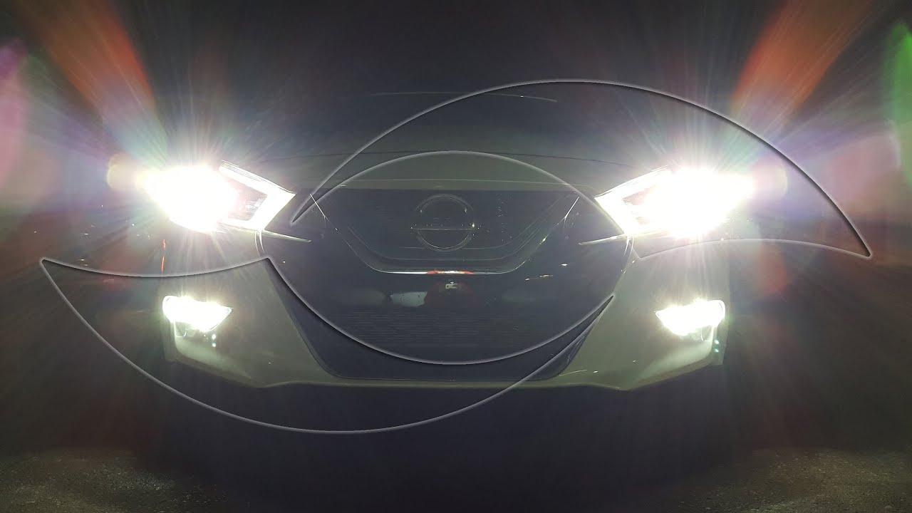 diy: 2016+ nissan maxima hid kit & led fog light installation
