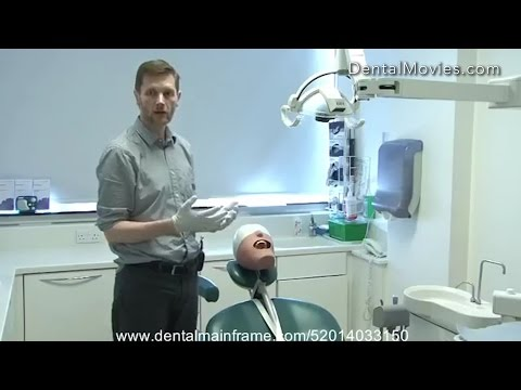 Dentist and patient position