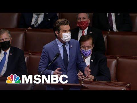 Trump's Ally Under Fire: Amid DOJ Sex Crime Probe, House Launches Ethics Probe Of Gaetz