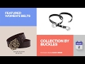Collection By Buckles Featured Women's Belts