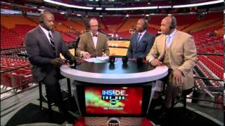 Ernie Johnson made a funny