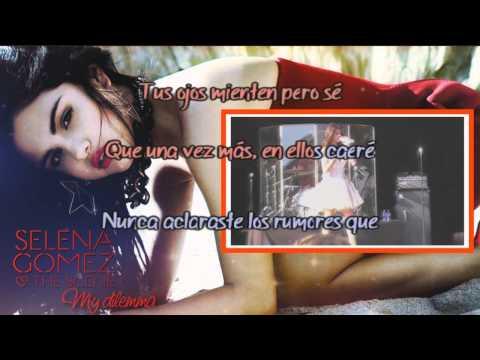Selena Gomez & The Scene - My Dilemma [Karaoke/Instrumental] ESPAÑOL