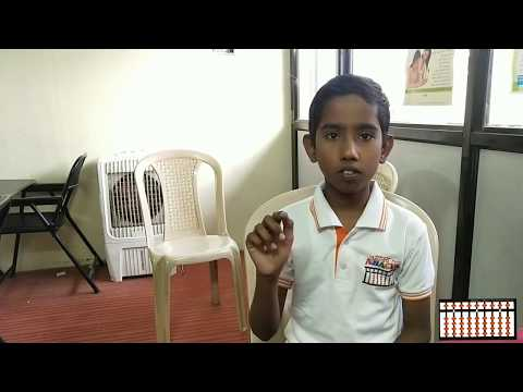 Chanakya Abacus Student Sumedh Hanmante 3