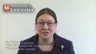 Msc Educational Leadership