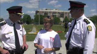 Toronto Police+kids Build Community-tpaaa Children's Playground Games 2010