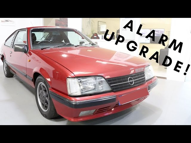Opel Monza Alarm Upgrade | Thatcham Approved