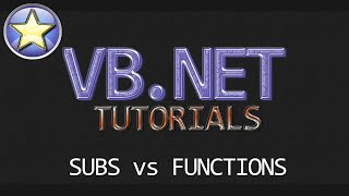 VB.NET Beginner Tutorial - Subs Vs Functions & Building A Real-Time Calculator (Visual Basic .NET)