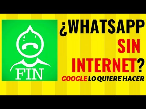 Google Lanzará Su Propio WhatsApp Pero SIN INTERNET ¿El Fin De WHATSAPP?