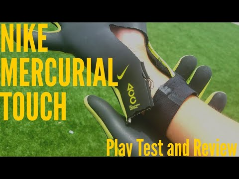 desfile plato Noble  Nike Mercurial Touch Elite Goalkeeper Glove Review & Play Test - YouTube