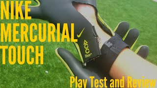 Nike Mercurial Touch Elite Goalkeeper Glove Review & Play Test