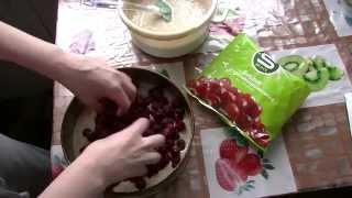 Вишневый пирог постный рецепт