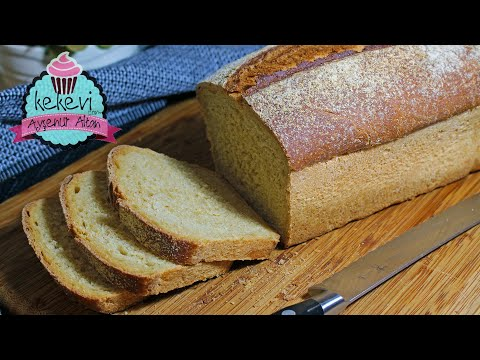 Yumuşak Mısır Ekmeği Tarifi 🍞 Evde Ekmek Yapmanın Tadına Varın