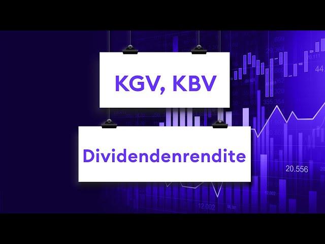 Aktien-Kennzahlen\: So nutzt Du KGV, KBV und Dividendenrendite | Aktienanalyse | Börse Stuttgart