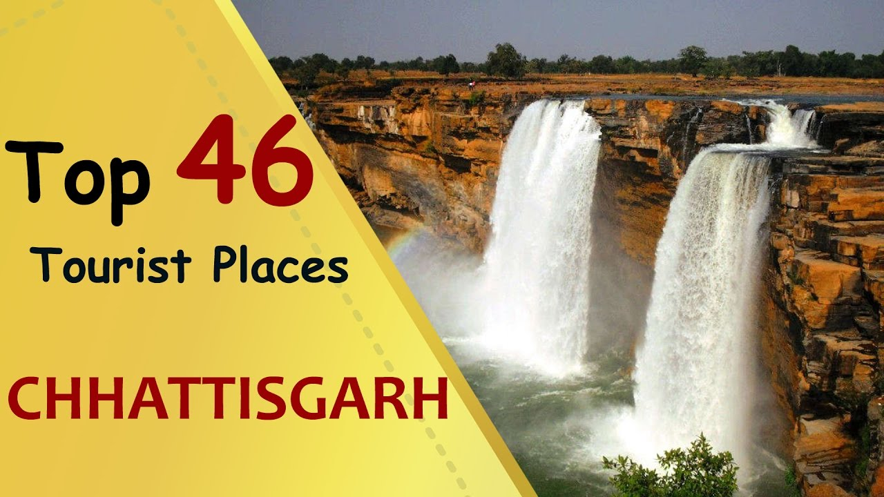 'CHHATTISGARH' Top 46 Tourist Places | Chhattisgarh Tourism