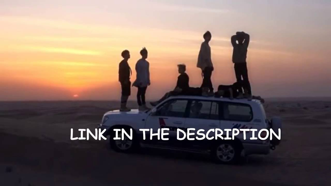 Car In Desert Hd Wallpaper Bts In Dubai Summer Package Eng Sub Youtube
