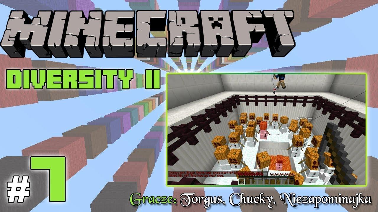 """Minecraft Escape: Diversity II z Torgus/Chucky! [7/x] – """"Bałwanki!"""""""