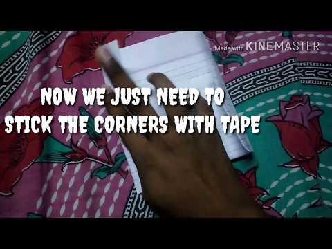 Paper DVD/CD disc cover |DIY|