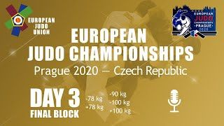 Day 3: Finals - European Judo Championships 2020