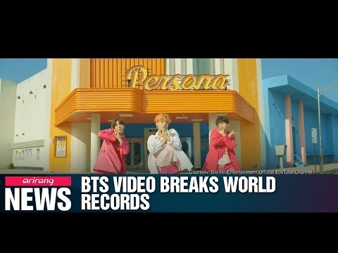 BTS&39; new   sets 3 Guinness World Records