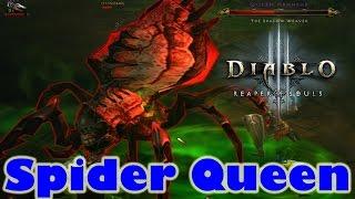 Diablo 3 Reaper Of Souls Ultimate Evil Edition Gameplay Walkthrough Part 14 Spider Queen