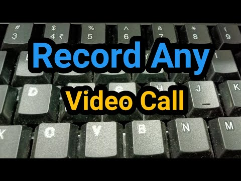 How to record video call on imo,skype,whatsapp,facebook on mobile.how to record whatsapp call,2017