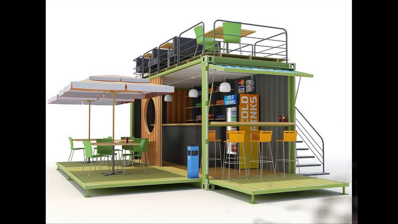thiết kế cafe container độc đáo tại việt nam