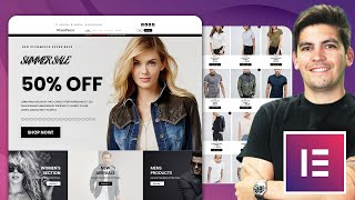 How To Make an eCommerce Website With Wordpress and Elementor 2021 [Elementor Tutorial]✅