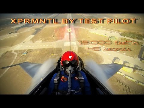 15.000 feet in 45 seconds!.. XPRMNTL by Test Pilot