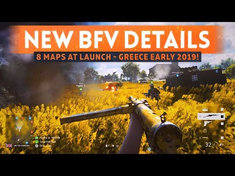 "8 LAUNCH MAPS CONFIRMED: GREECE MAP IN EARLY 2019! – ""This Is Battlefield 5"" Trailer Info Breakdown"