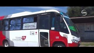 Captaron fuerte enfrentamiento entre conductores de buses en Machalí - CHV Noticias