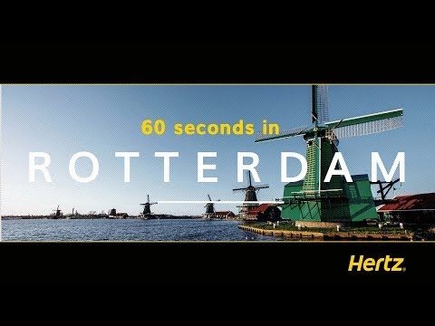 Hertz in 60 seconds – Rotterdam – A guide to its must-see attractions