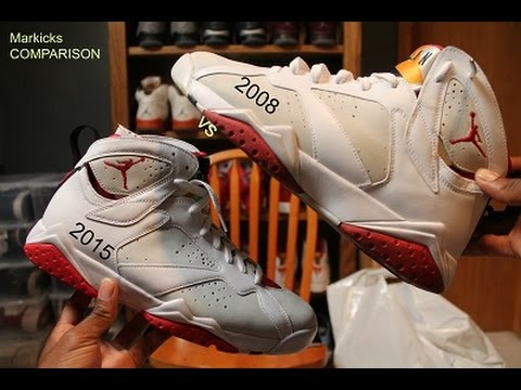 huge discount 5615e c39bd Unboxing the Jordan Hare 7 Review and 2008 CDP Comparison