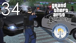 [LS-RP.com] LSPD | Pursuit #34 - Tactical alert patrol and shots fired!