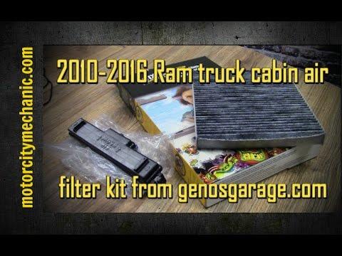 Exceptional 2010 2016 Ram Truck Cabin Air Filter Kit From Genosgarage.com
