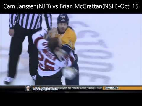 Top 10 Best NHL Fights of 2011