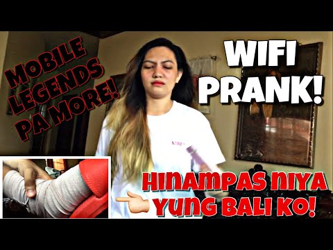 WIFI PRANK (gone wrong)