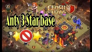 Th 10 monster base (Anty 3 star2018)||clash of clans|| in hindi