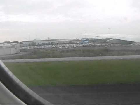 Air China CA911 landing at Arlanda airport