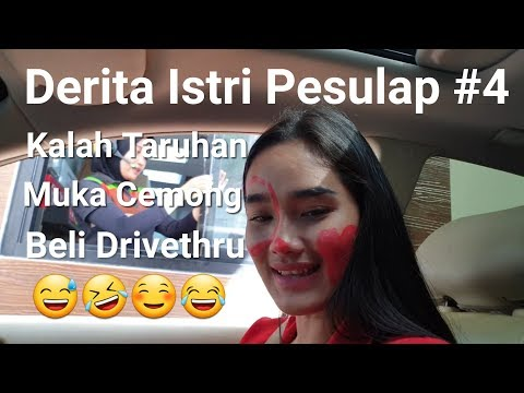 Derita Istri Pesulap #4 kalah taruhan muka coret2 ke resto !! PRANK Faby Marcelia