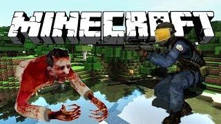 Counter Strike Source Minecraft ZOMBIE MADNESS !
