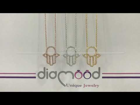 Diamood Jewelry Fatma Ana Eli Kolye
