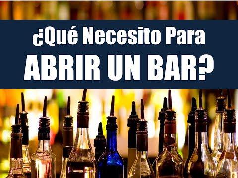 Que Necesito Para Abrir Un Bar: Curso Online